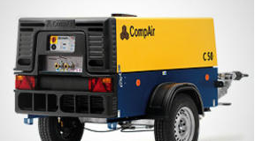 Передвижные компрессоры CompAir С14-76
