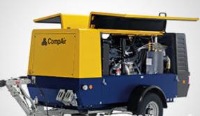 Передвижные компрессоры CompAir С85-140