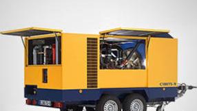 Передвижные компрессоры CompAir С160-270TS